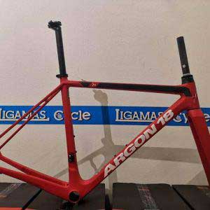 Argon 18 Gallium CS Frameset-Red