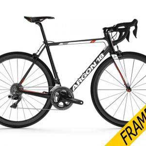 Argon 18 Gallium Pro Frameset – Black/White Gloss