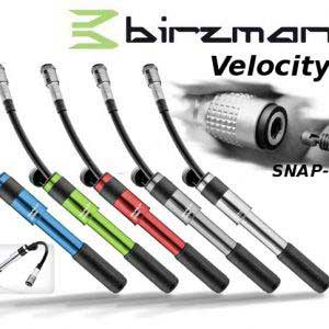 Birzman Velocity Apogee 160 PSI Road Mini Bicycle Handpump