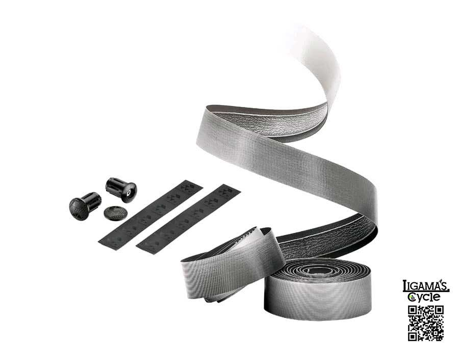 Ciclovation Premium Road Bicycle Handlebar Tape w//Halo Touch STORM CLOUD