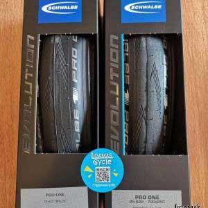 Schwalbe Pro One Tubeless Tyre 700x25c