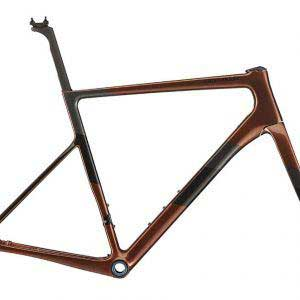 Cannondale Supersix Evo Hi-Mod Disc Road Frameset-Sienna