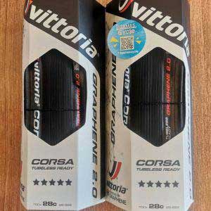 Vittoria Corsa Control G2.0 Road Competition Tire 700x28c (Tubeless Ready)